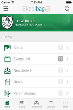 St Patrick's Primary Stratford screenshot 1