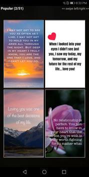 "Love Quotes"" - Daily Quote, Sayings, & Wallpapers Ekran Görüntüsü 1"