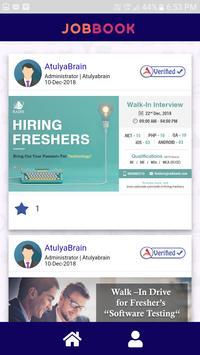 Jobbook Candidate screenshot 2