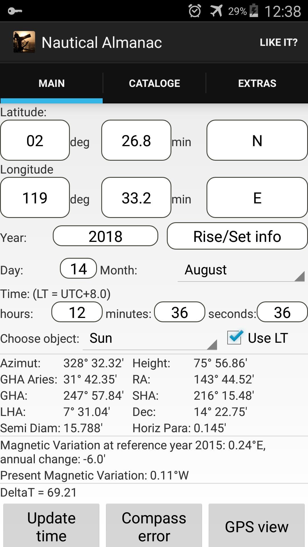 Nautical Almanac For Android Apk
