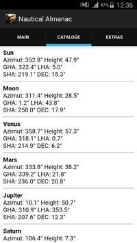 Nautical Almanac 截图 1