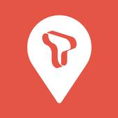 T map 아이콘