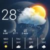Pronóstico del tiempo, cielo del tiempo icono