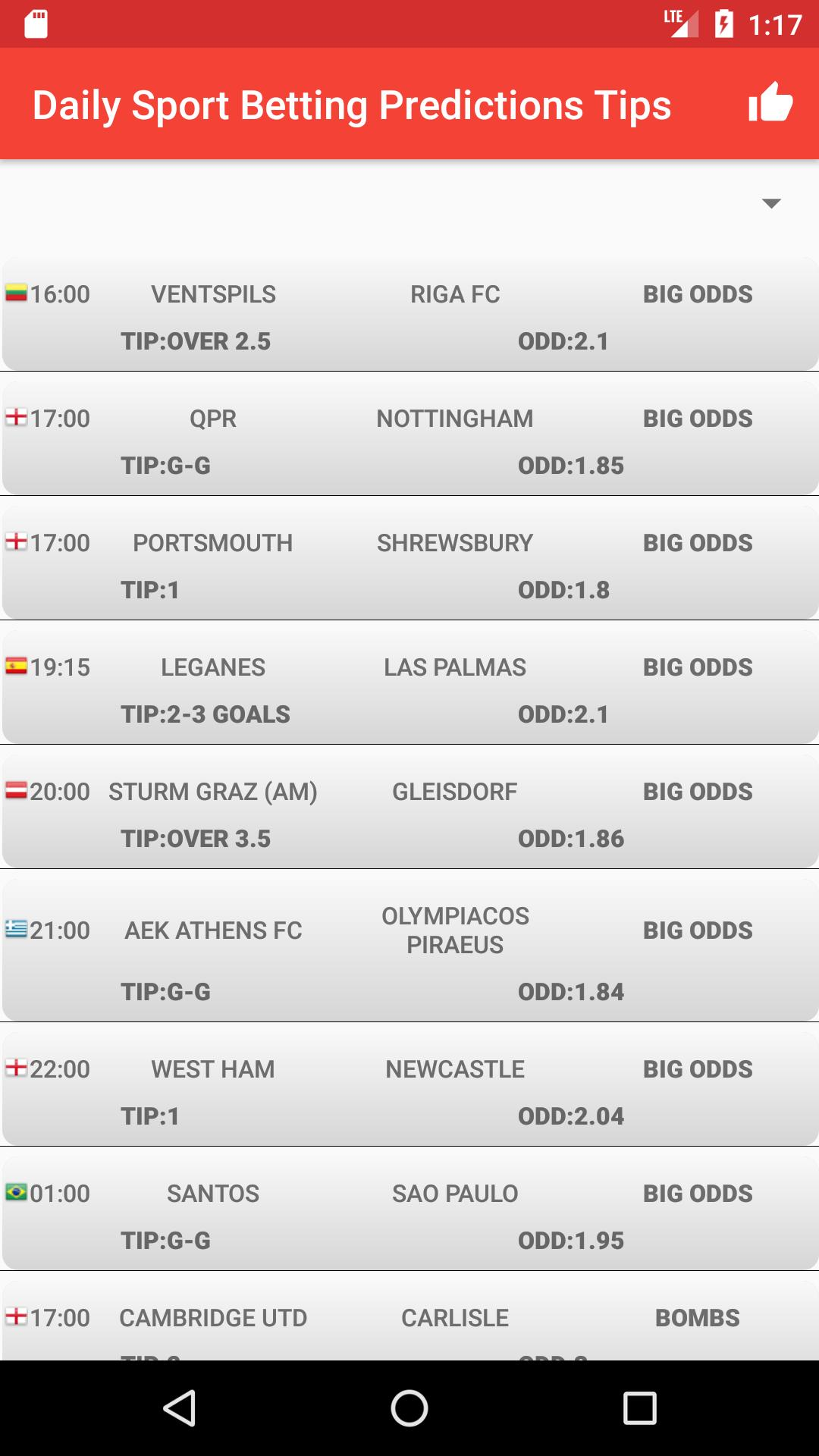 Sport betting predictions tips alwasy bet on blue