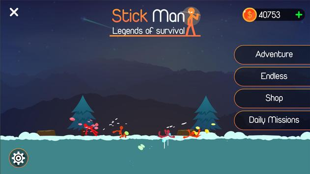 Poster Stickfight: Legend of Survival