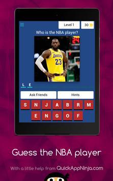 Guess The NBA Player screenshot 12