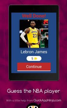 Guess The NBA Player screenshot 13