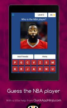 Guess The NBA Player screenshot 14