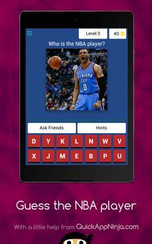 Guess The NBA Player screenshot 15