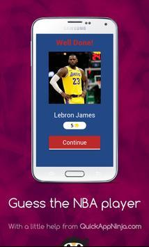 Guess The NBA Player screenshot 1