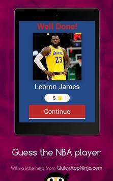 Guess The NBA Player screenshot 7