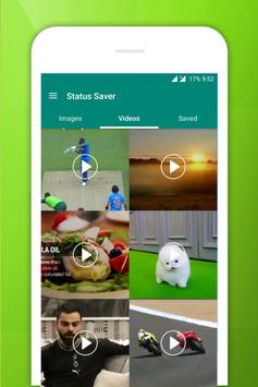 Status Saver for Whatsapp - Save HD Images, Videos Screenshot 1