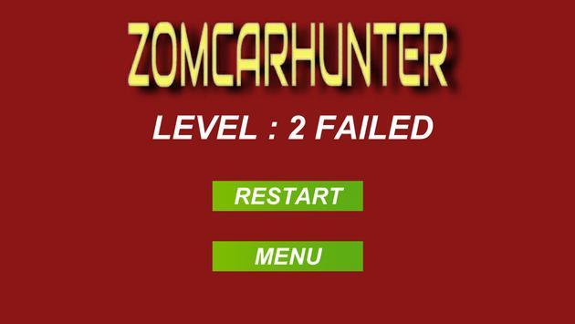 ZomCarHunter screenshot 5