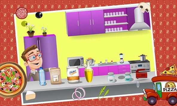 Pizza maker Cooking Game 2016 screenshot 12