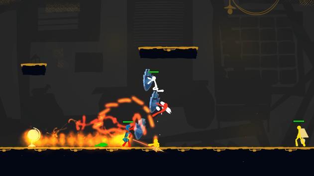 Stickman Exile Hero screenshot 11