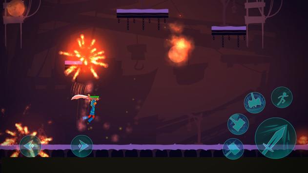 Stickman Exile Hero screenshot 13