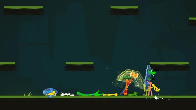 Stickman Exile Hero screenshot 15