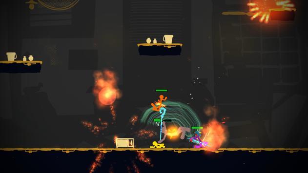 Stickman Exile Hero screenshot 2