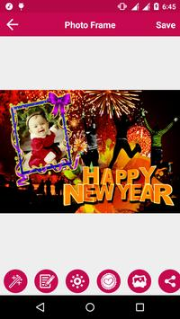 New Year Photo Frame screenshot 6