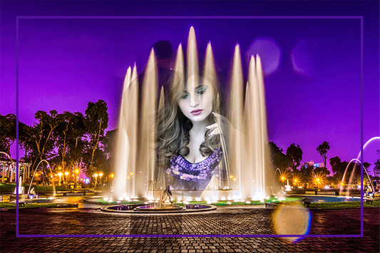 Water Fountain Photo Frames screenshot 5