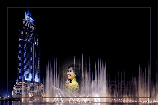 Water Fountain Photo Frames screenshot 9