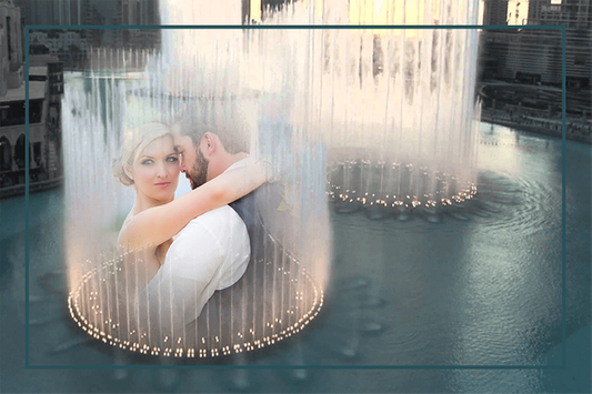 Water Fountain Photo Frames screenshot 2