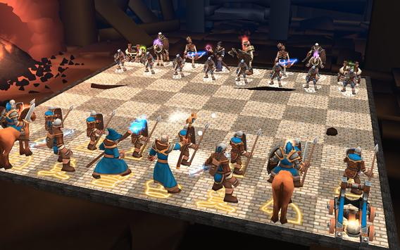 Chess 3D Animation : Real Battle Chess 3D Online poster