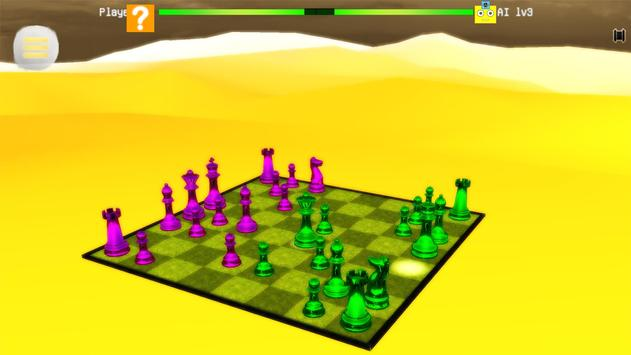 Chess 3D Real Characters - Puzzles & Conquest screenshot 7