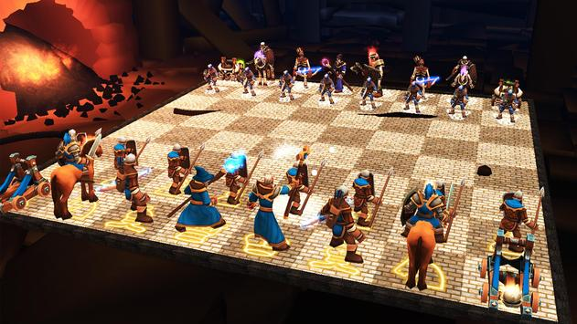 World Of Chess 3D Free poster