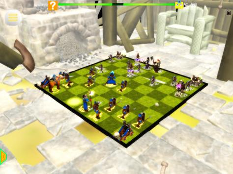 Chess 3D Real Characters - Puzzles & Conquest screenshot 17