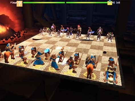 Chess 3D Real Characters - Puzzles & Conquest screenshot 16