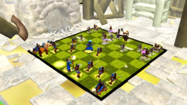 Chess 3D Real Characters - Puzzles & Conquest screenshot 1