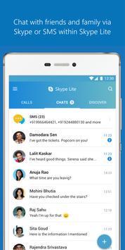 Skype Lite постер