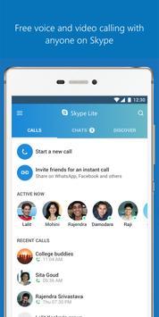 Skype Lite скриншот 1