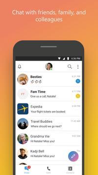 Skype - 免费即时消息传递和视频通话 海报