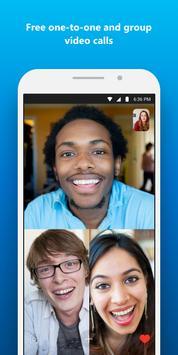 Skype: chat e chamadas com vídeo grátis imagem de tela 1