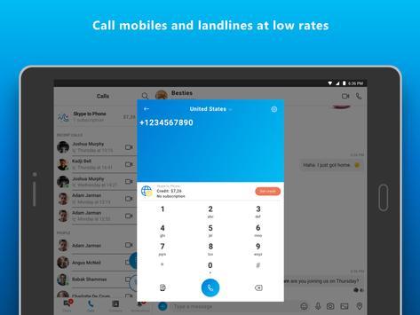 9 Schermata Skype - videochiamate e IM gratuite