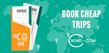 Kiwi.com: Best travel deals: flights, trains, cars