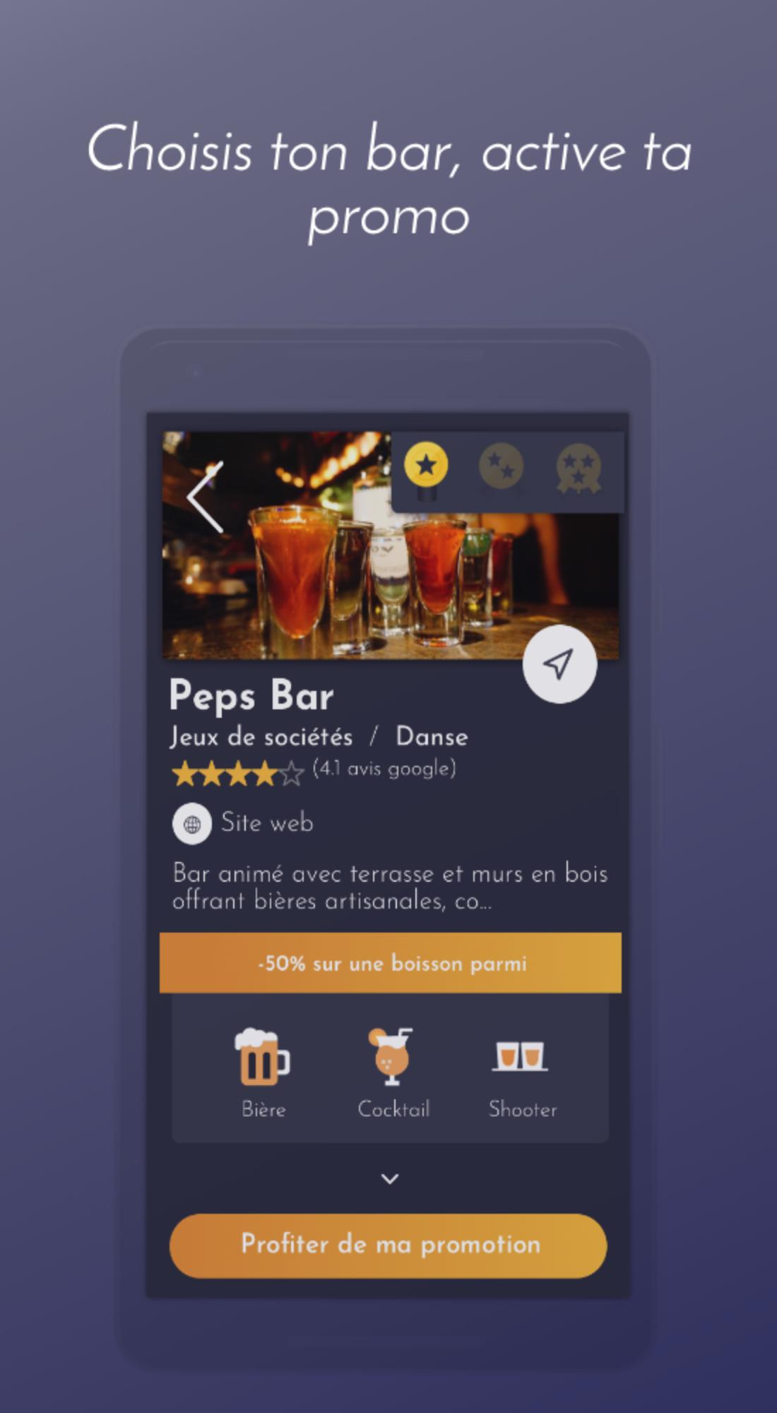 Peps Un Bar Une Promo For Android Apk Download
