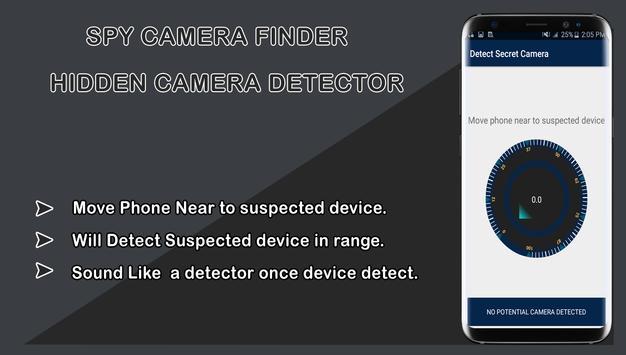 Spy camera finder-Hidden Camera Detector screenshot 1