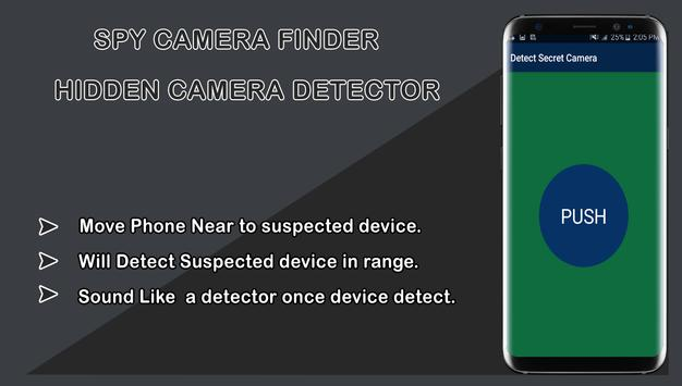 Spy camera finder-Hidden Camera Detector screenshot 3