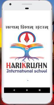 HARIKRUSHN International School poster