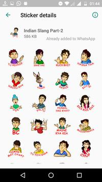New Most Popular Indian Stickers - WAStickers APP screenshot 4