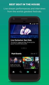 LiveXLive captura de pantalla 1
