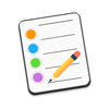 Color notepad - notes - widget simgesi