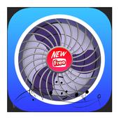 Funny Sleep Fan , Ezzy Withe Fan Music , Noise icon