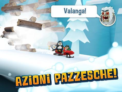 13 Schermata Ski Safari 2