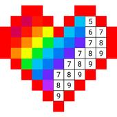 Раскраска по цифрам по клеточкам по номерам для Андроид ...
