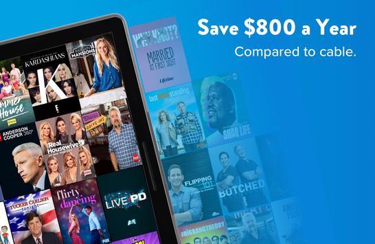 SLING: Live TV, Shows & Movies capture d'écran 7