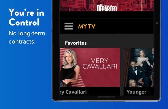 SLING: Live TV, Shows & Movies capture d'écran 9